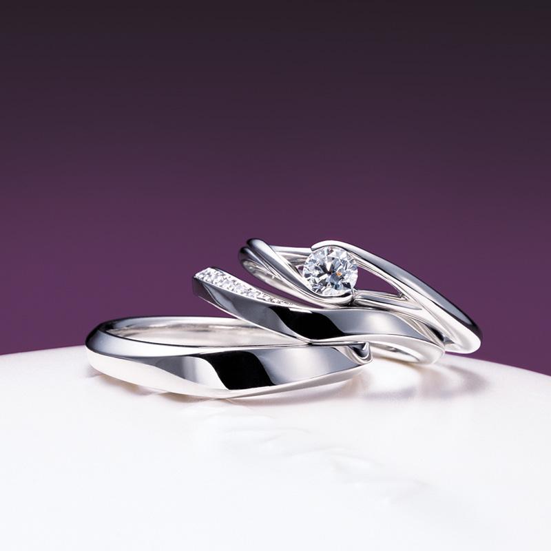 望・水鏡(もちづき・みずかがみ)|俄の婚約・結婚指輪