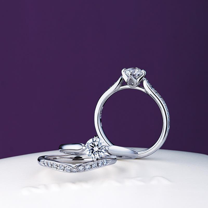 睡蓮(すいれん) 俄の婚約・結婚指輪