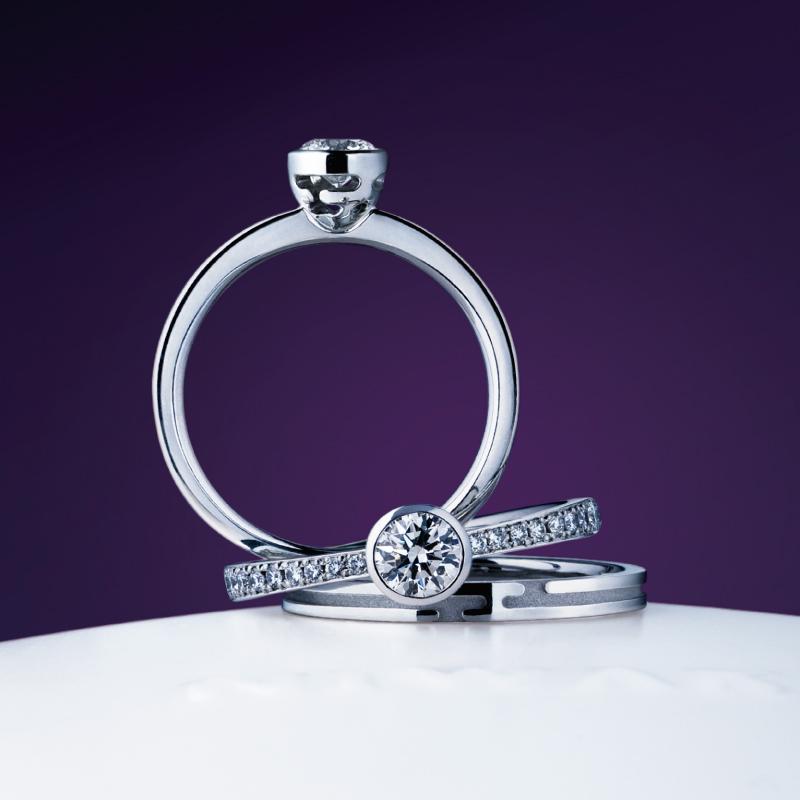 八重霞(やえがすみ)|俄の婚約・結婚指輪