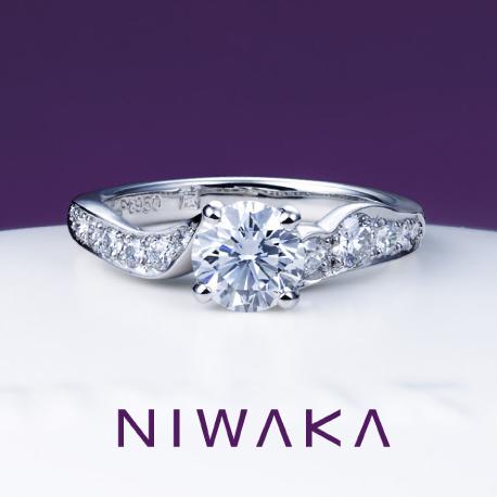 唐花(からはな)|俄 婚約指輪