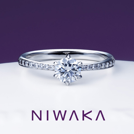 かれん|俄 婚約指輪