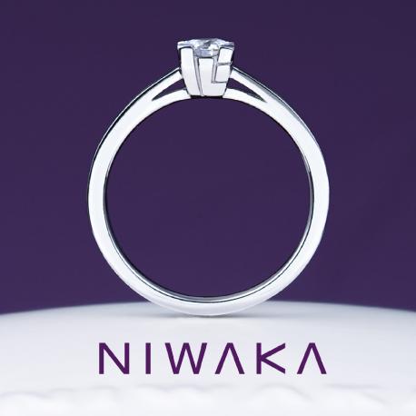 心(こころ)|エンゲージ|俄の婚約指輪