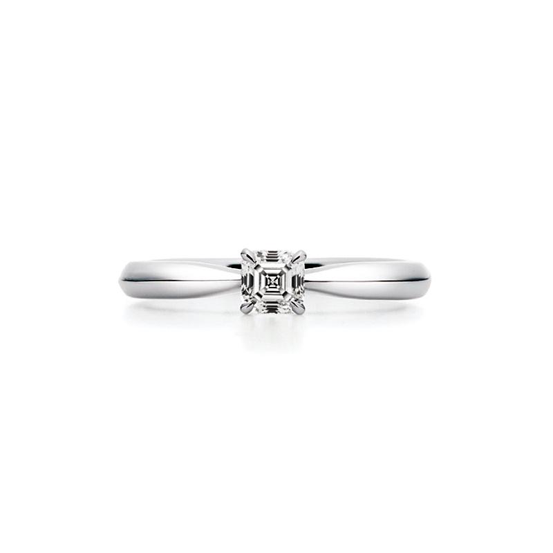 AC009|ロイヤルアッシャー 婚約指輪