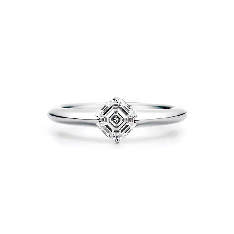 AC004|ロイヤルアッシャー 婚約指輪