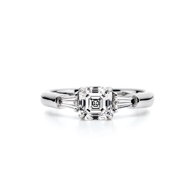 AC002|ロイヤルアッシャー 婚約指輪