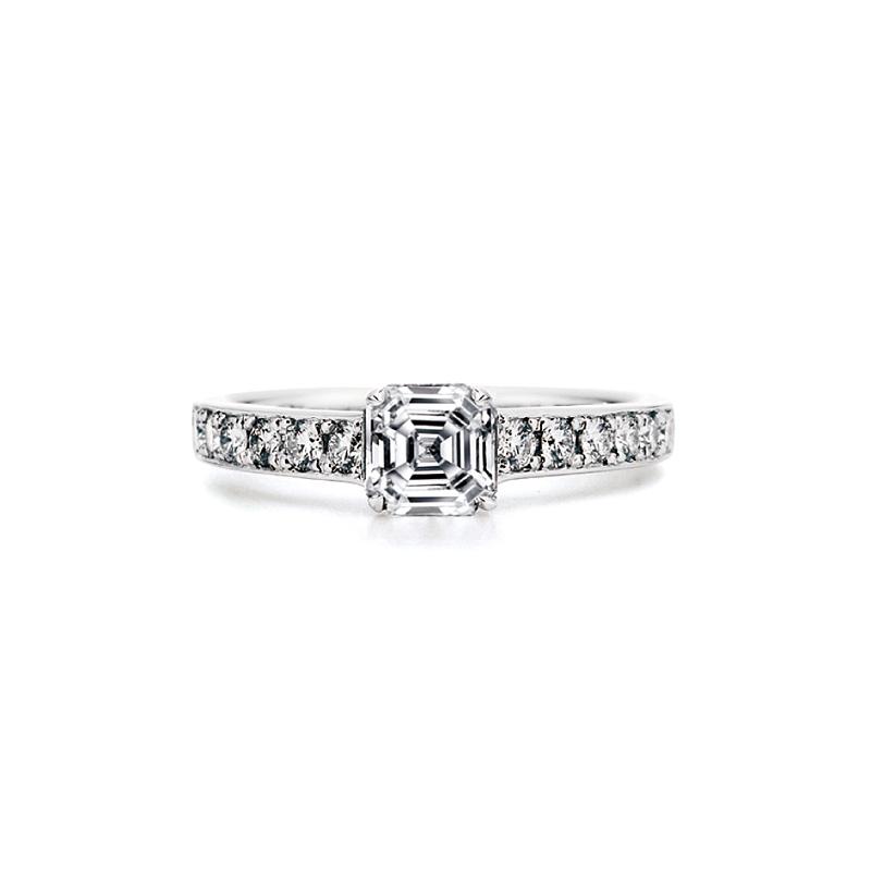 AC005|ロイヤルアッシャー 婚約指輪