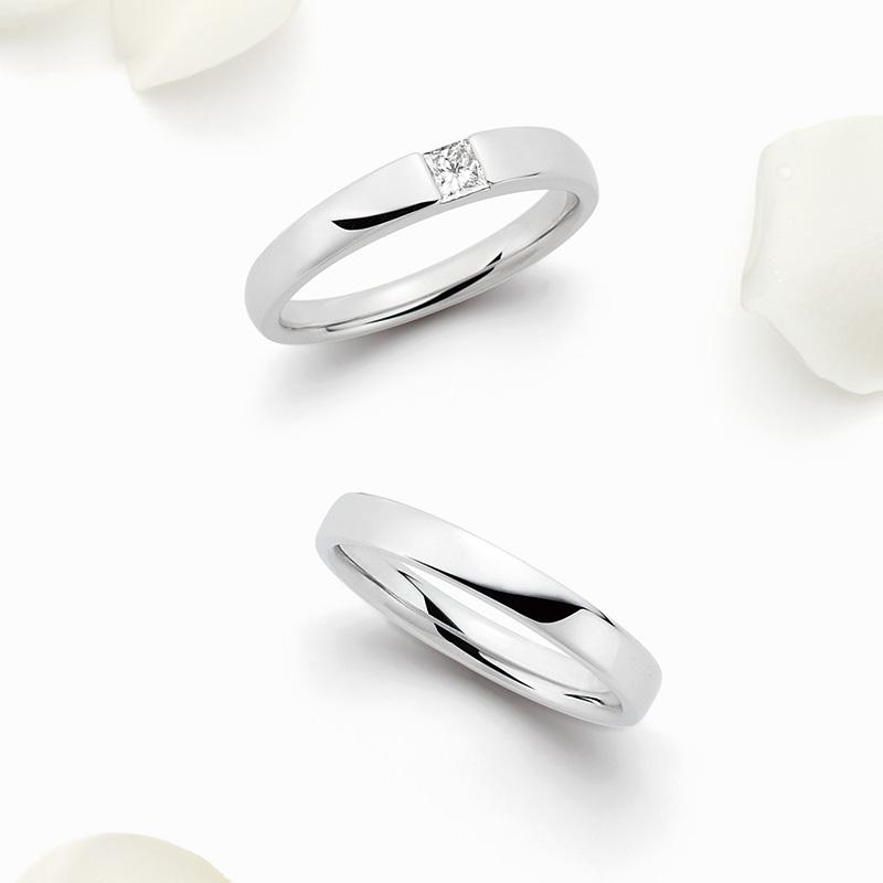 WRA006 WRB007|ロイヤルアッシャー 結婚指輪