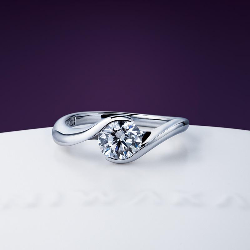 麗(れい)|俄 婚約指輪