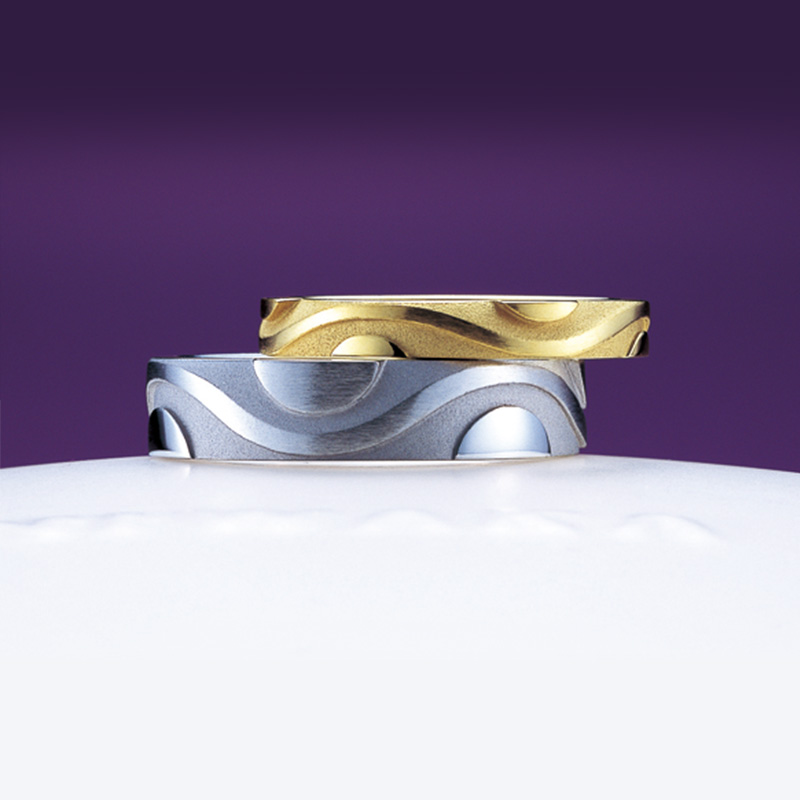風神(ふうじん)|俄 結婚指輪