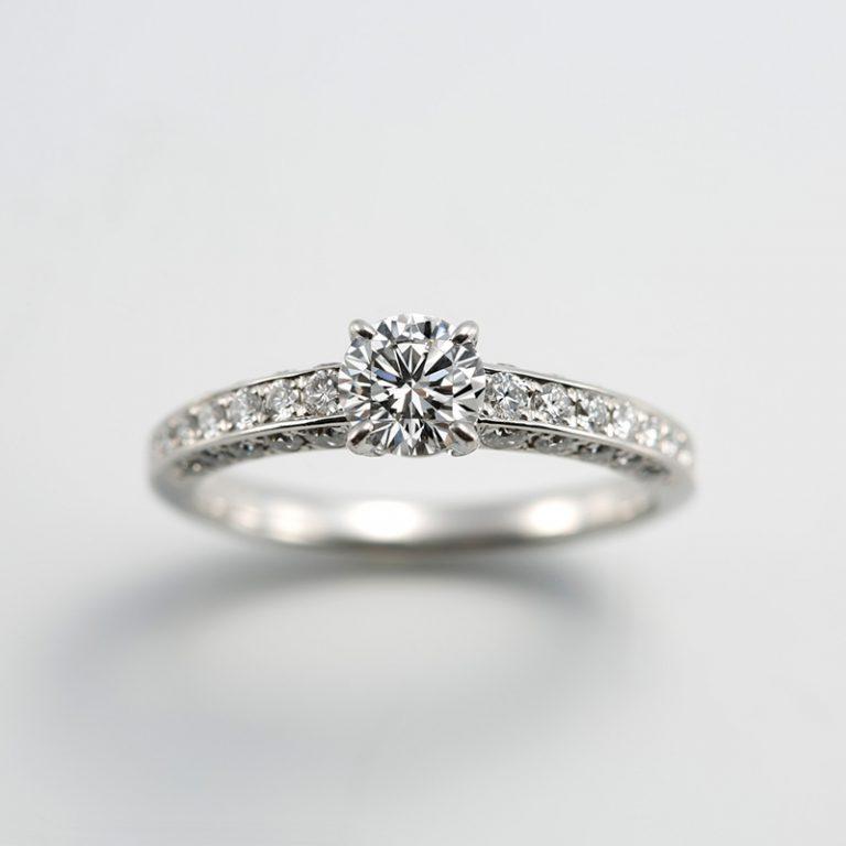 #580|ロイヤルアッシャー 婚約指輪