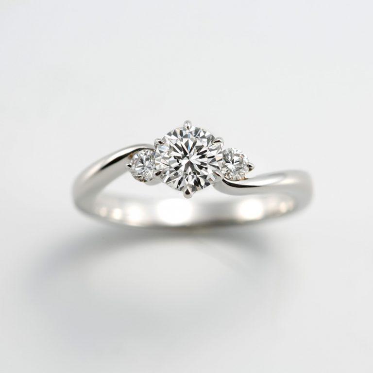 #680|ロイヤルアッシャー 婚約指輪