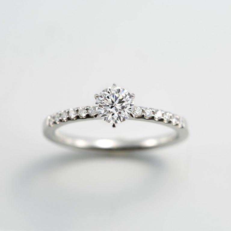 #688|ロイヤルアッシャー 婚約指輪
