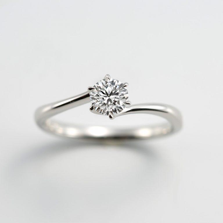 #318|ロイヤルアッシャー 婚約指輪