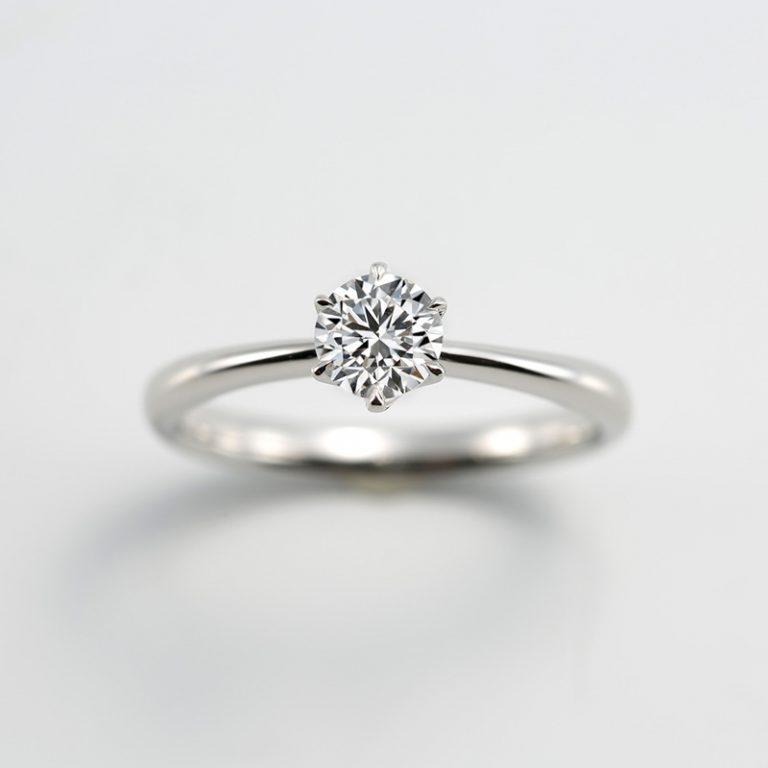 #251|ロイヤルアッシャー 婚約指輪