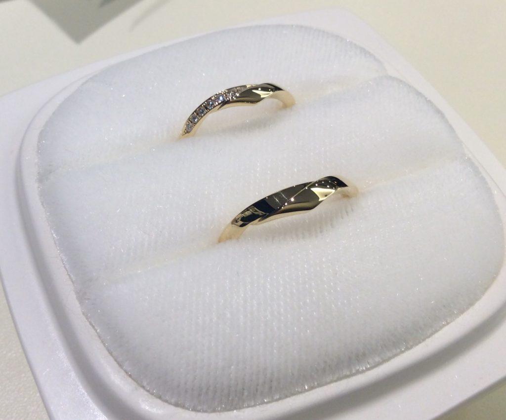 俄結婚指輪「単衣」YG