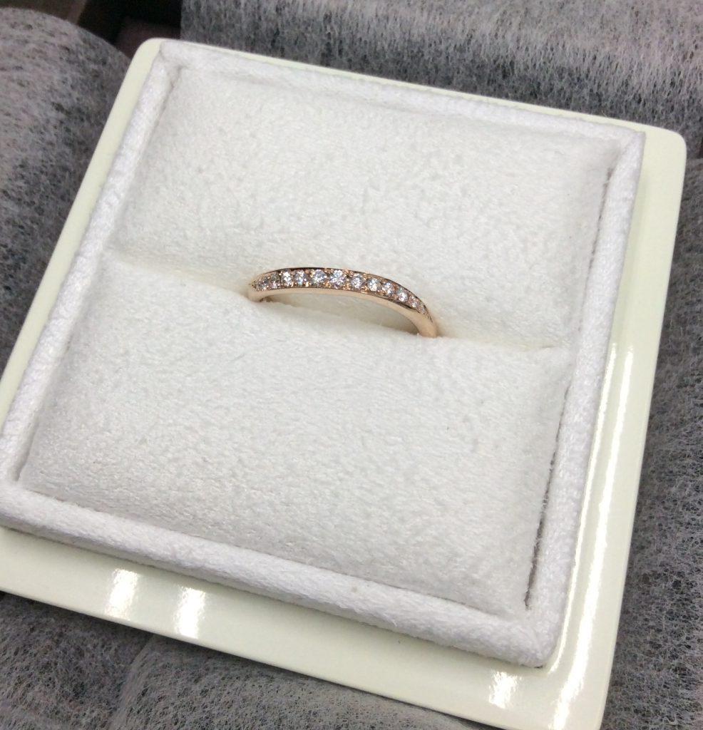 ルシエの結婚指輪の「セレナーデ」