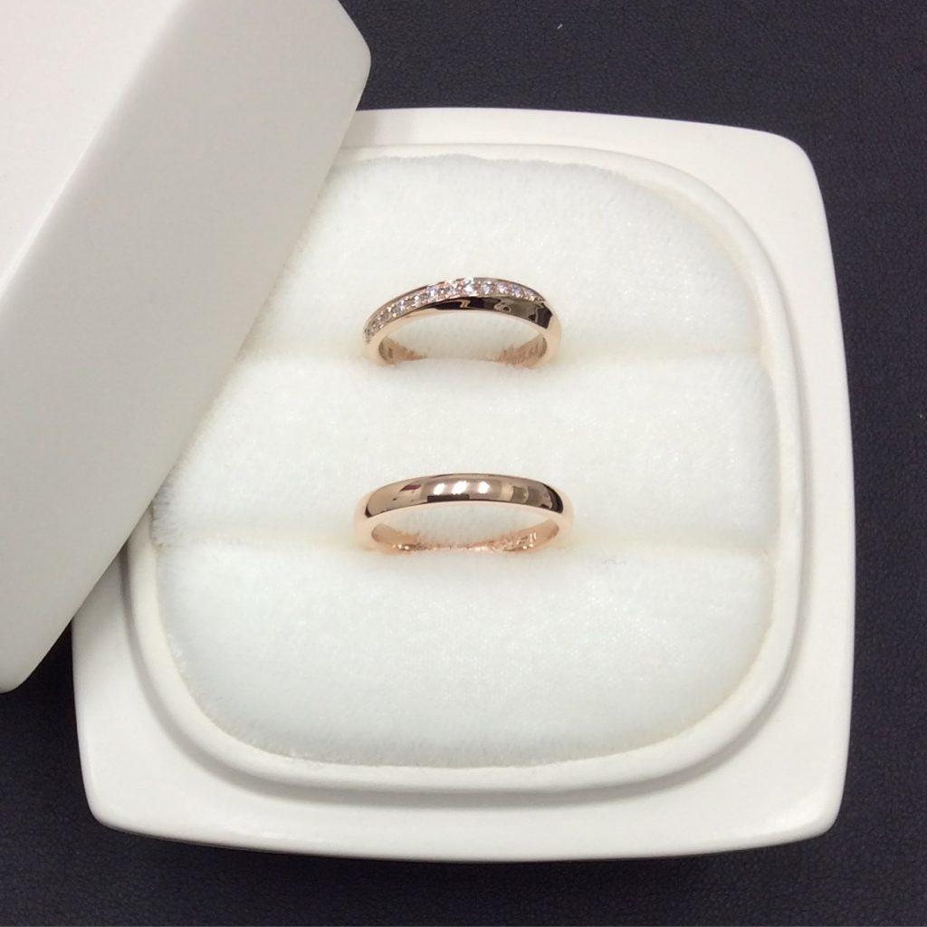 俄結婚指輪「綺羅」PG