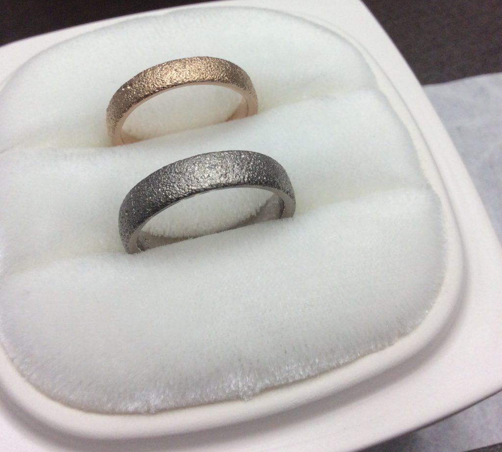 俄結婚指輪「長次郎」PtG,PG