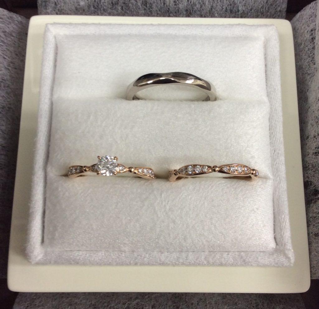 ルシエ婚約・結婚指輪「ラブリー・アリア」PG