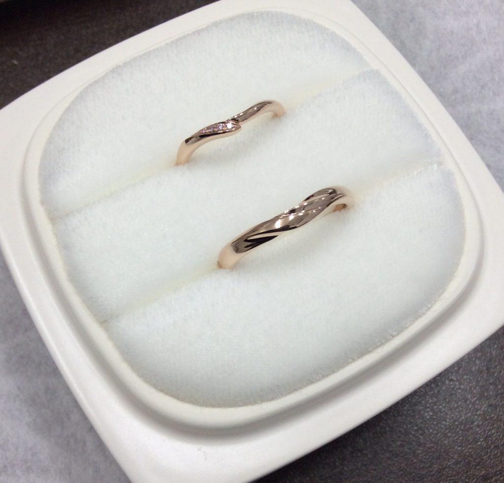 俄の結婚指輪「初桜」PG