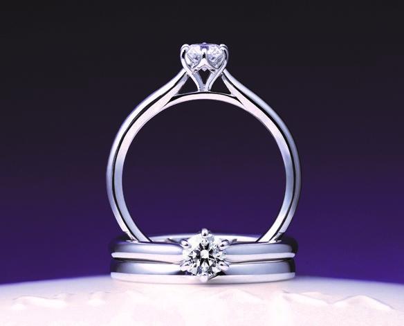 ことほぎ アーム透かしあり|俄 婚約指輪