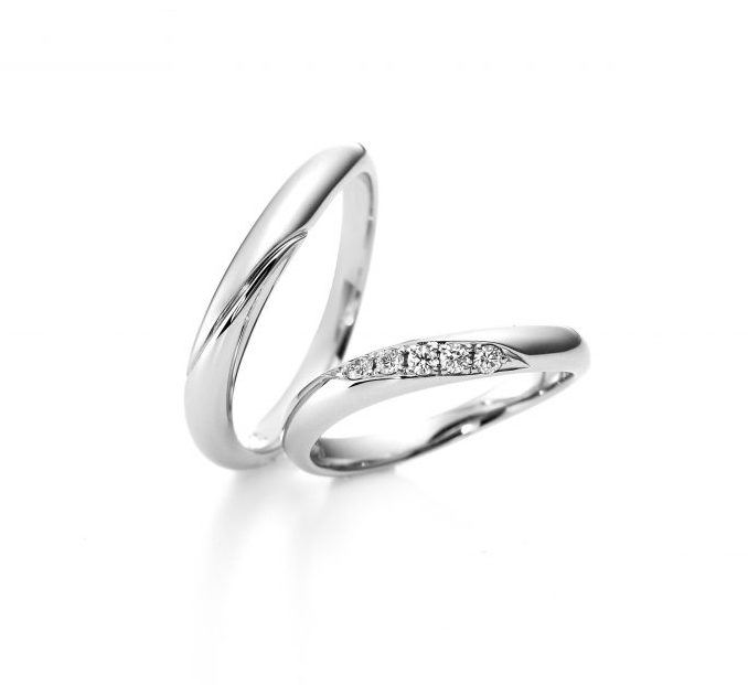 URA804 URB805|ラザールダイヤモンドの結婚指輪