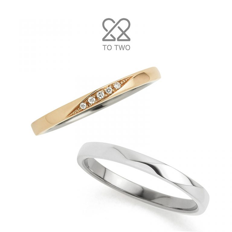Arch(アーチ)|TO TWOの結婚指輪