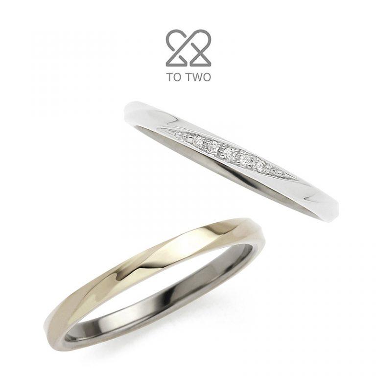 Blossom(ブロッサム)|TO TWOの結婚指輪