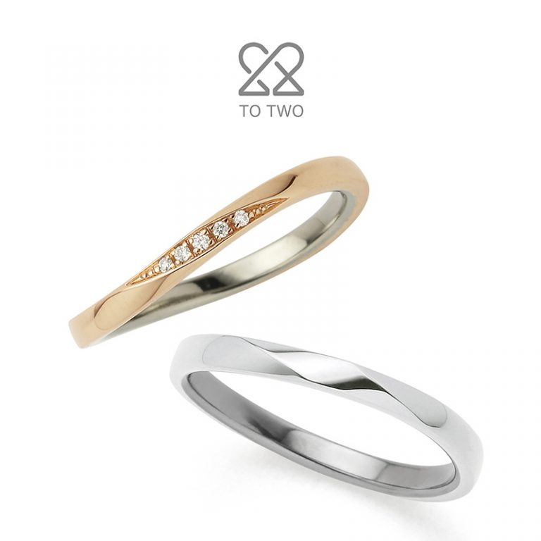 Moment(モーメント)|TO TWOの結婚指輪