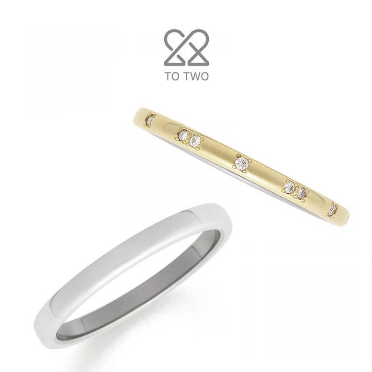 Stellar(ステラ)|TO TWOの結婚指輪
