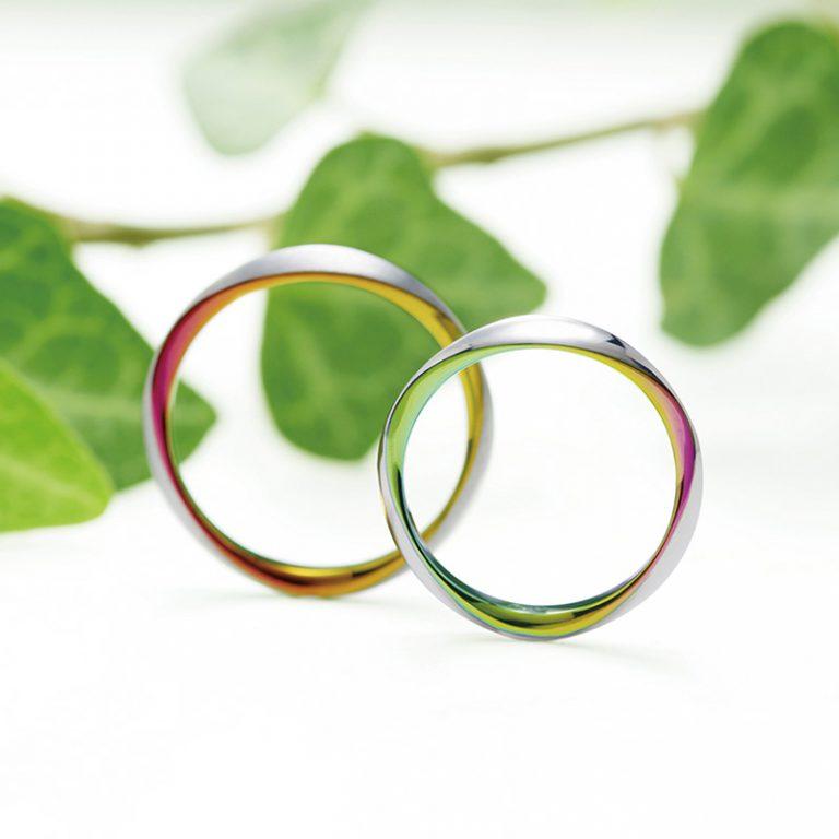トリオレ SORAの結婚指輪(マリッジリング)