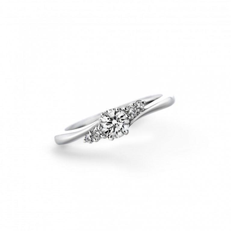 シンフォニー LD347PRD|ラザールダイヤモンド 婚約指輪