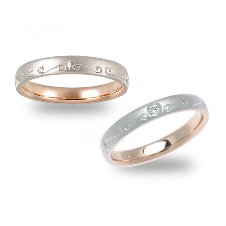 2306Pt×PG|ストーリーズの結婚指輪