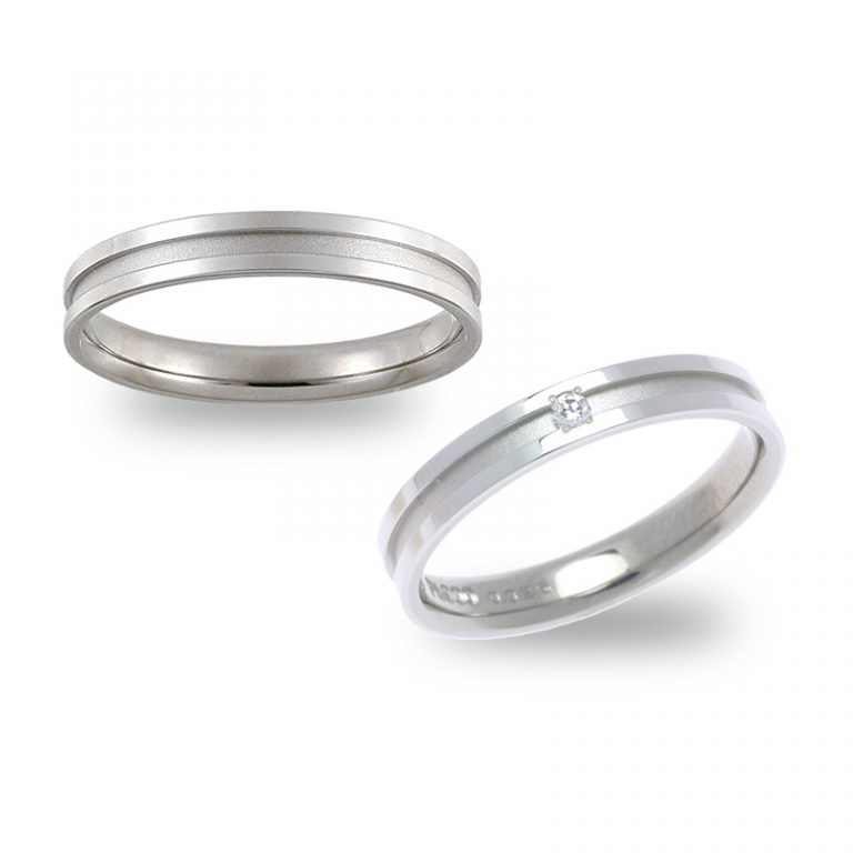 2307Pt×WG|ストーリーズの結婚指輪