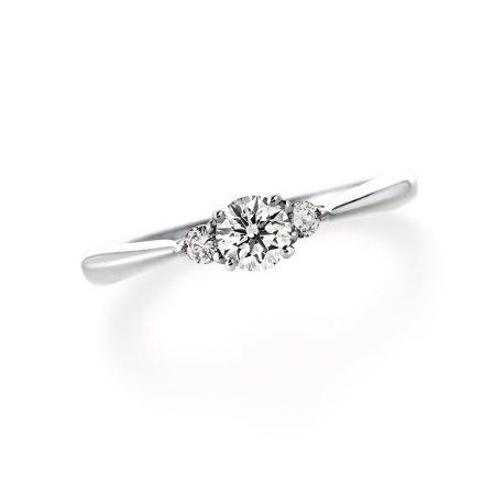 ポエトリー LD242PRD|ラザールダイヤモンド 婚約指輪
