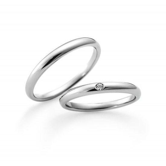 LG015PR/LG016PR|ラザールダイヤモンドの結婚指輪