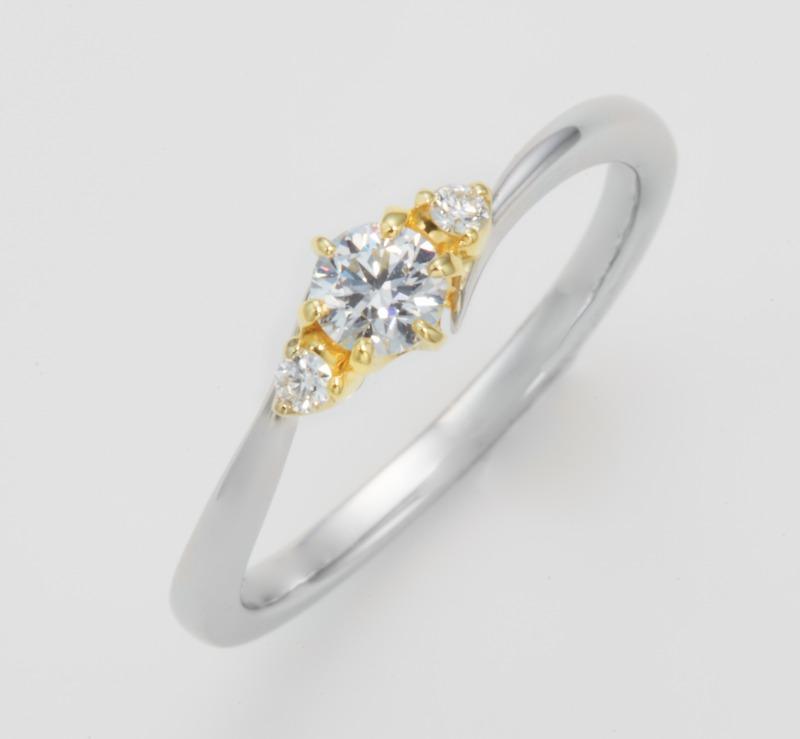 スヘルデ川 Dテラス 婚約指輪