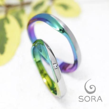 スウェル| SORA ( ソラ) 結婚指輪