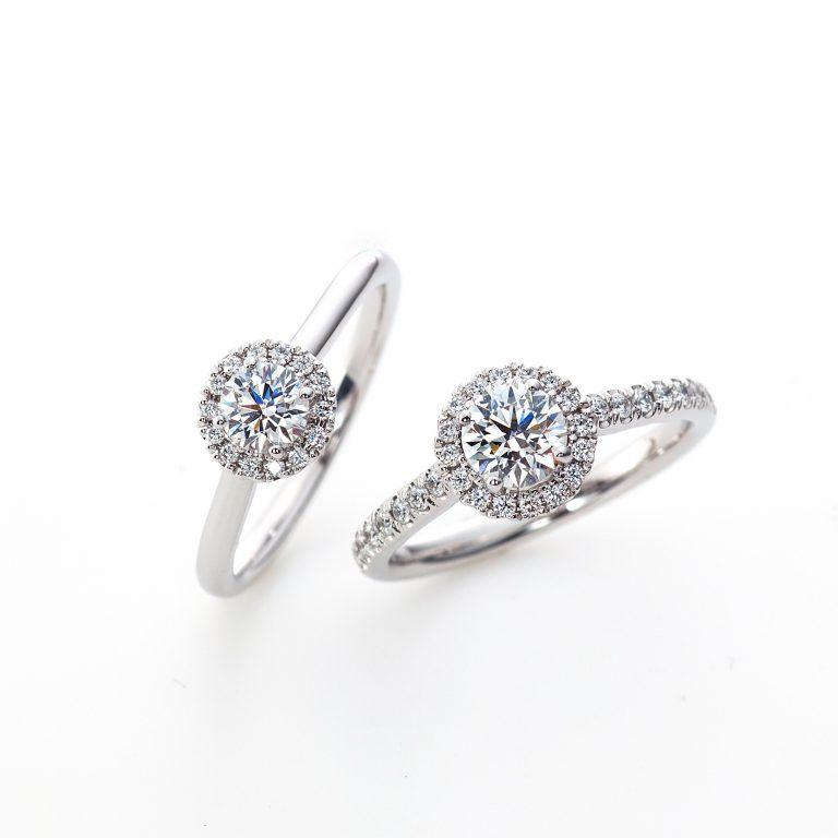 ヴェリタス LD806 LD807|ラザールダイヤモンド 婚約指輪