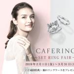 【カフェリング】セットリングフェア