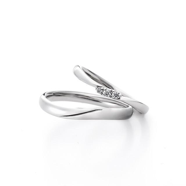 アイリス FH019PR FH020PR|ラザールダイヤモンド  結婚指輪