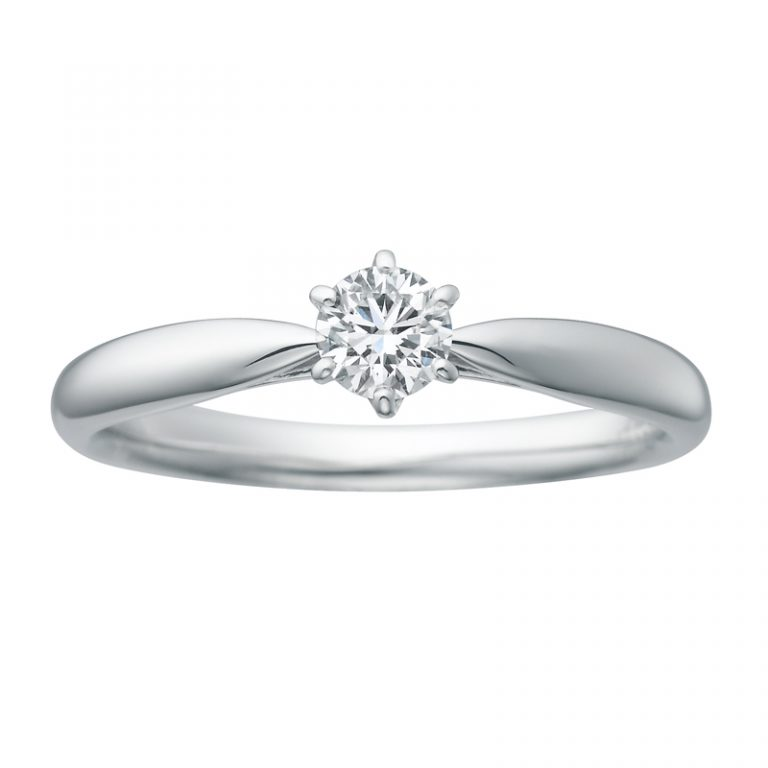 SHE001 |サムシングブルーアイテール 婚約指輪