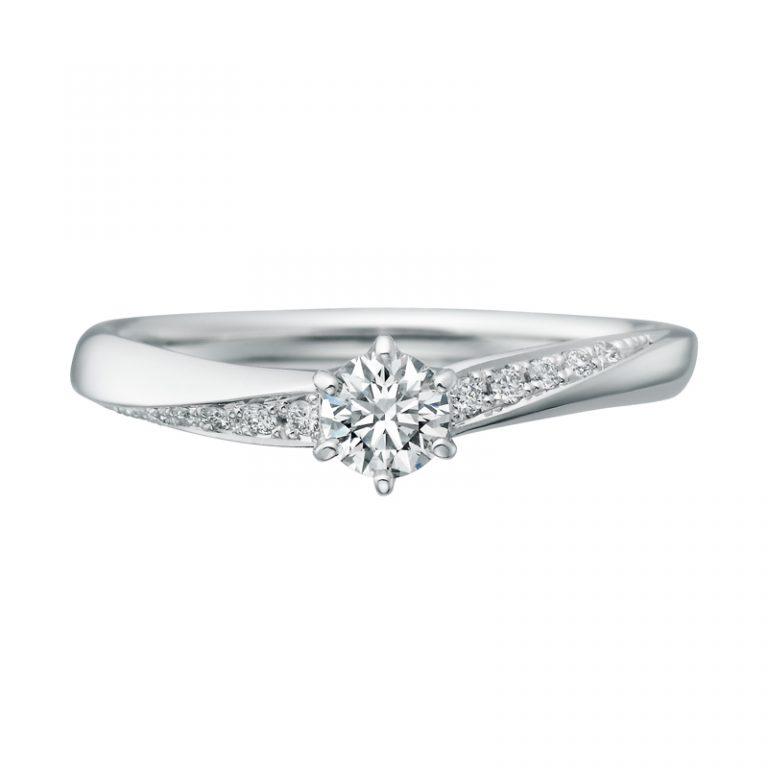 SHE003|サムシングブルーアイテール 婚約指輪