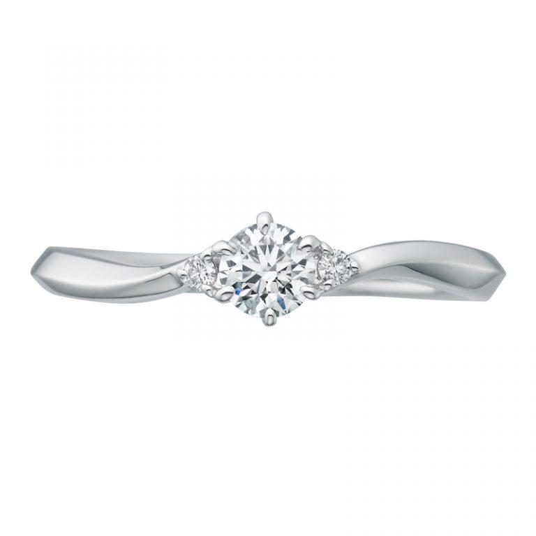 SHE004|サムシングブルーアイテール 婚約指輪