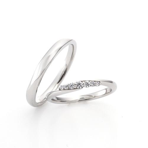 カリーナ LD897PR LD896PRD|ラザールダイヤモンド 結婚指輪