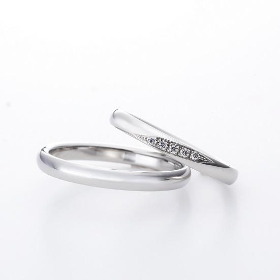 メテオ LD890PRM LD890PRL・LD890PRⅬ2|ラザールダイヤモンド 結婚指輪