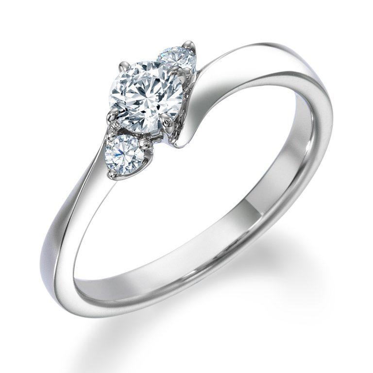 ERA805|ロイヤルアッシャー 婚約指輪