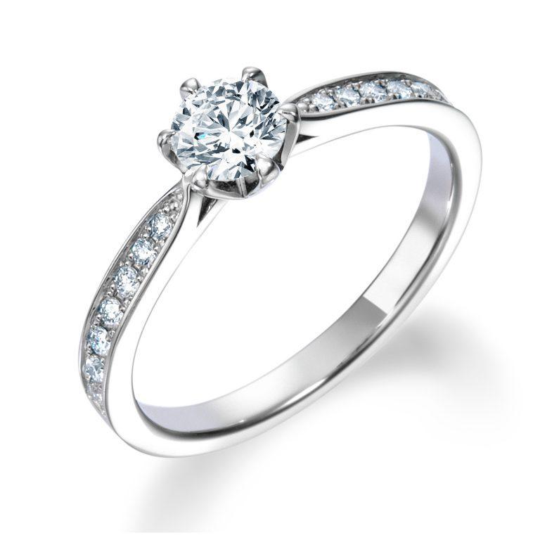 ERA806|ロイヤルアッシャー 婚約指輪