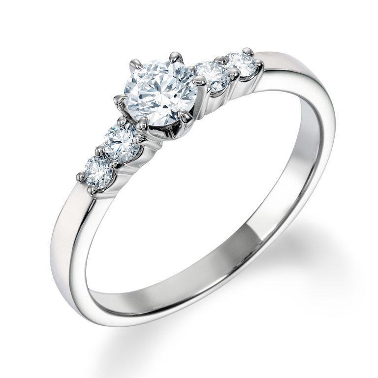 ERA808|ロイヤルアッシャー 婚約指輪