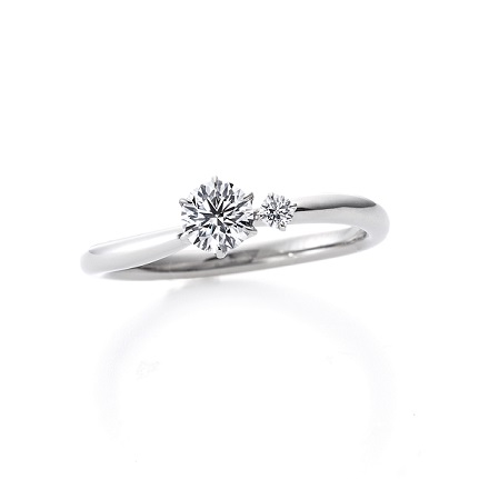 アイリス FL006PRD|ラザールダイヤモンド 婚約指輪